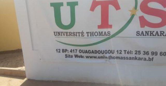 Université Thomas SANKARA: Le Pr Alkassoum MAIGA remet officiellement les clefs aux autorités universitaires