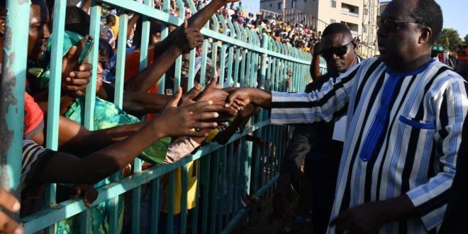 Campagne présidentielle 2020 au Burkina: le candidat Zéphirin Diabré de l'UPC aborde des questions préoccupantes