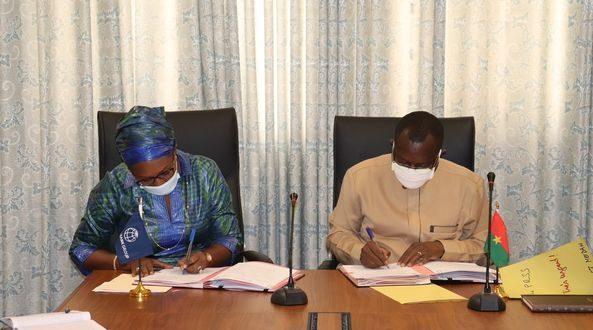 Banque Mondiale –Burkina Faso : un accord de financement de 253 milliards FCFA pour des projets de développement économique et social.