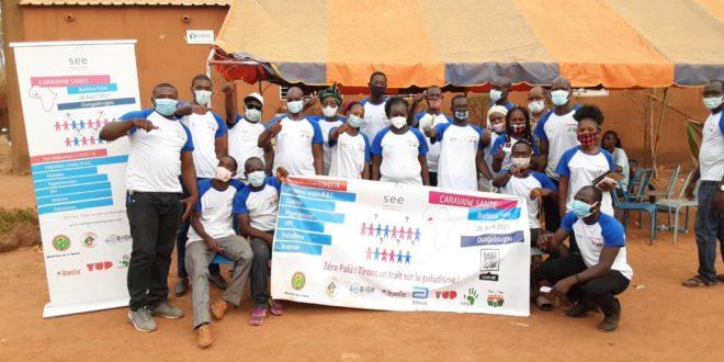 Santé en Entreprise (SEE) déploie trois caravanes santé au Burkina Faso, en Côte d'Ivoire et au Cameroun pour lutter contre le paludisme.