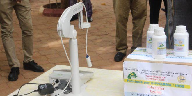 Santé: des médicaments paracétamol et chloroquine made in Burkina