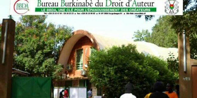 Bureau Burkinabè du Droit d'Auteur (B.B.D.A): paiement des droits d'auteur du 8 Juin au 9 Juillet 2021