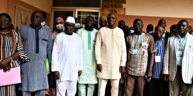 Burkina Faso: reprise du dialogue Gouvernement /Syndicats en juillet 2021 après 5 ans de suspension