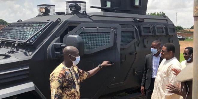 Police nationale du Burkina:des blindés et drones acquis sur budget de l'Etat en 2021