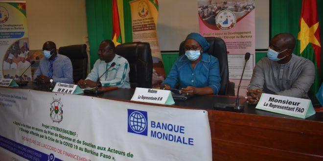 Secteur de l'élevage au Burkina: plus de 1,5 milliards de FCFA pour 3.450 acteurs